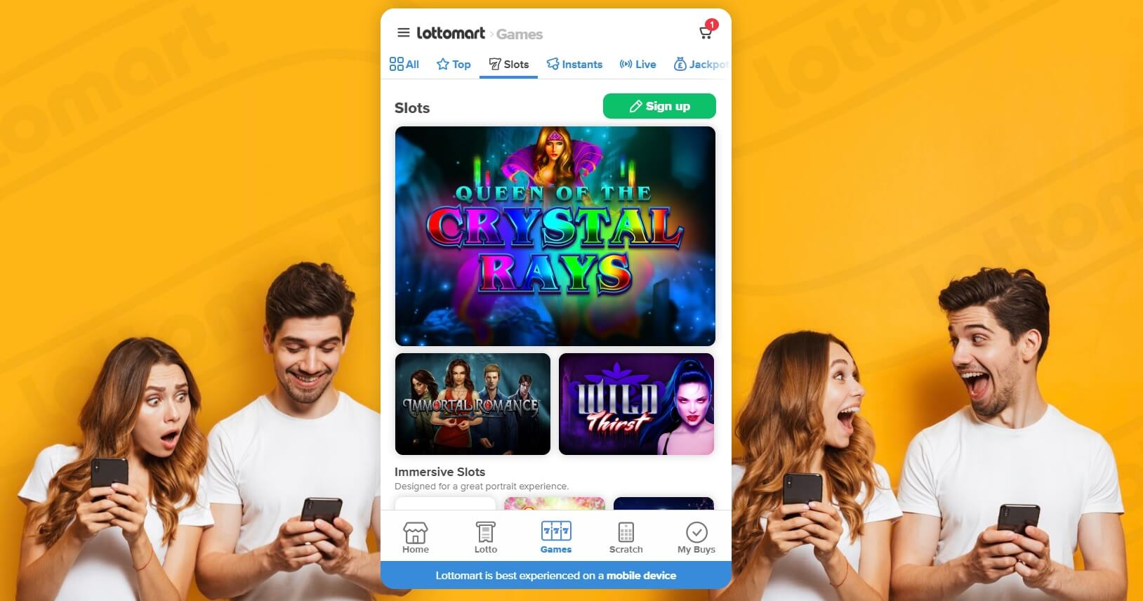 uk online casinos review of lottomart